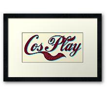 Cosplay Framed Print
