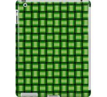 Weave World (green) iPad Case/Skin
