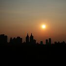 West Side View of Manhattan by M VH