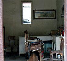 Ye Olde Barber Shop by Donna R. Carter