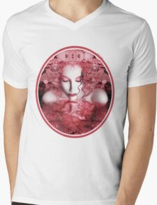 Red Autumn - Self Portrait Mens V-Neck T-Shirt