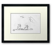 ghost dog Framed Print