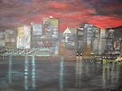 Montreal is Alive   /   true   joie de vivre   ( french ,   Joy of Living )        (  My Paintings )  by fiat777