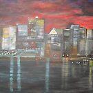 Montreal is Alive   /   true   joie de vivre   ( french ,   Joy of Living )        (  My Paintings )  by Rick  Todaro