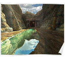 Superstition Mountain Poster