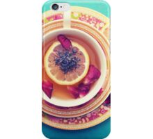 Lemon Tea iPhone Case/Skin