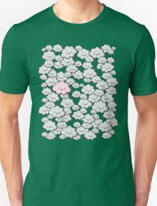 Kawaii Grey Little Clouds Unisex T-Shirt