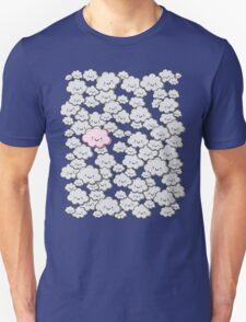 Kawaii Grey Little Clouds T-Shirt