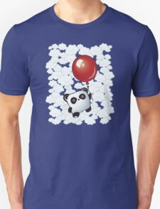 Kawaii Little Panda on the Balloon T-Shirt