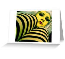 Lady Lemon Greeting Card