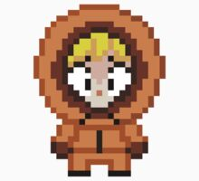 South Park Kenny McCormick Mini Pixel by geekmythology