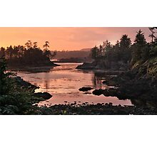 Near Ucluelet BC Photographic Print