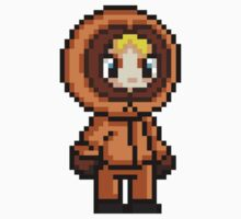 Kenny McCormick Pixel by geekmythology
