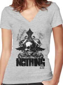 20 Nothing Women's Fitted V-Neck T-Shirt