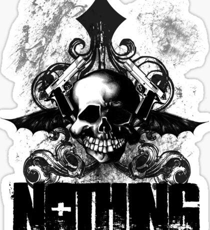 20 Nothing Sticker