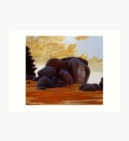 """""""The National"""" 137x152cm, oil on linen.  Art Print"""