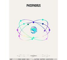 Phosphorus - Element Art Photographic Print