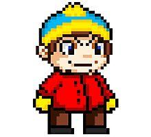 Eric Cartman Pixel Photographic Print