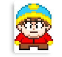 South Park Eric Cartman Mini Pixel Canvas Print