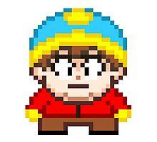 South Park Eric Cartman Mini Pixel Photographic Print