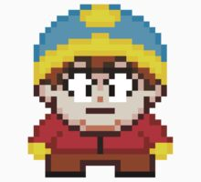 South Park Eric Cartman Mini Pixel by geekmythology