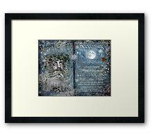 December : Reed/Elder Moon Framed Print