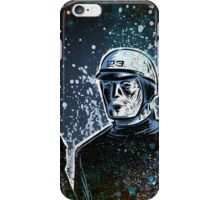 THX 1138 george lucas lucasfilm chrome robot 1970's science fiction sci fi police android hard sci fi iPhone Case/Skin