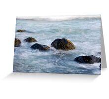 Coastal Rocks Greeting Card