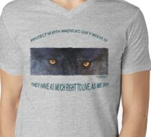 THE RIGHT TO LIVE Mens V-Neck T-Shirt