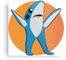 Super Bowl's Left Shark! Metal Print