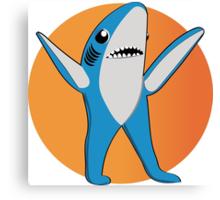 Super Bowl's Left Shark! Canvas Print