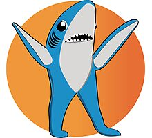 Super Bowl's Left Shark! Photographic Print