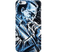 miles davis free jazz music illustration drawing trumpet saxophone john coltrane dizzy gillespie iPhone Case/Skin