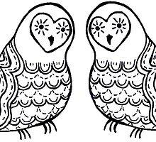 Owls by Shara