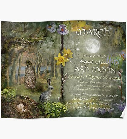 March : Ash Moon Poster