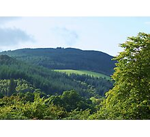 the hills by loch ness...... Photographic Print