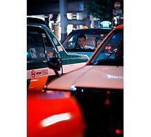 In the queue for the next customer: Shibuya Station, Tokyo Photographic Print