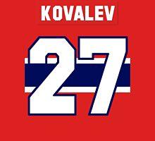 Alex Kovalev #27 - red jersey Unisex T-Shirt