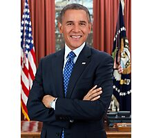 Funny Parody Obama Bush Photographic Print