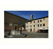 Siena, Italy Art Print