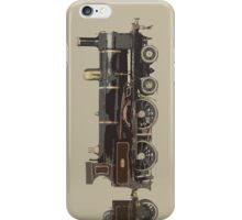 train brown iPhone Case/Skin
