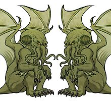 Cthulhu Twins by nyctherion