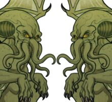 Cthulhu Twins Sticker