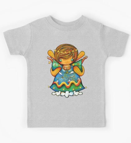 TShirt Watch Over Me Angel Kids Clothes