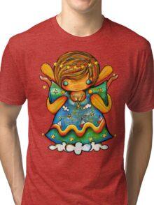 TShirt Watch Over Me Angel Tri-blend T-Shirt