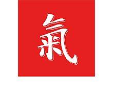 Chi Symbol   Lust Brick Photographic Print