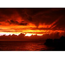 On Fire Photographic Print