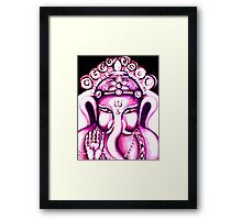 Ganesha radiating Love Framed Print