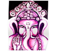 Ganesha radiating Love Poster