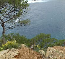 Calanque Sea view by boldoflorine
